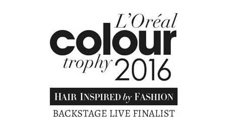 L'Oreal Colour Trophy 2016 Backstage Live Finalist